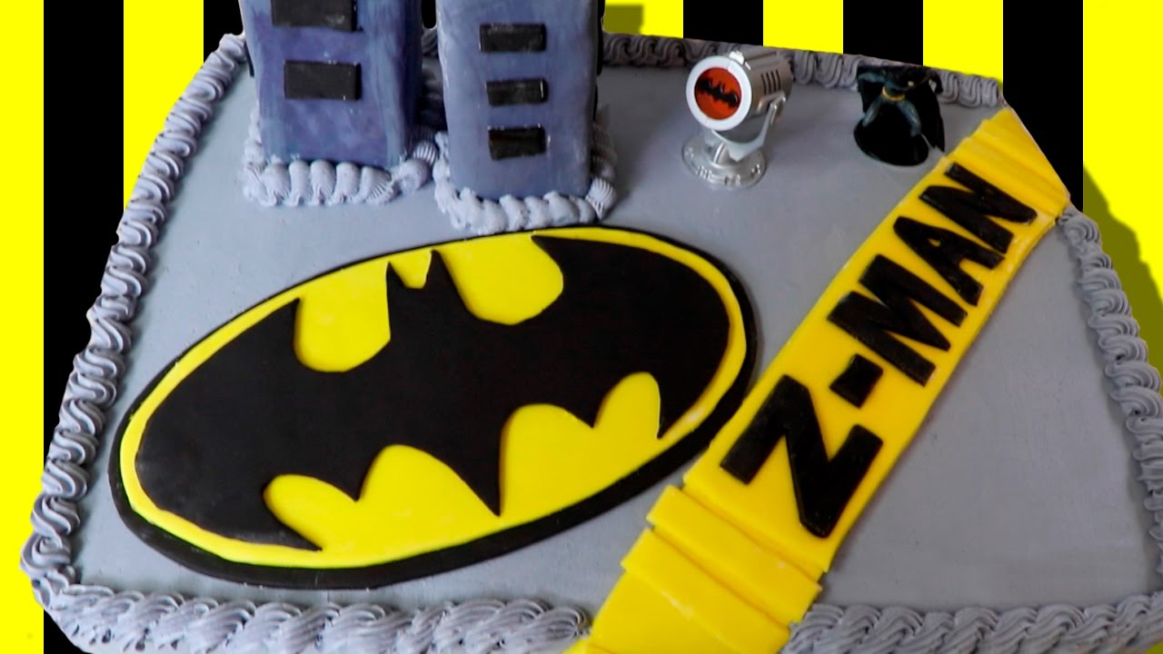 Awesome BATMAN Birthday CAKE