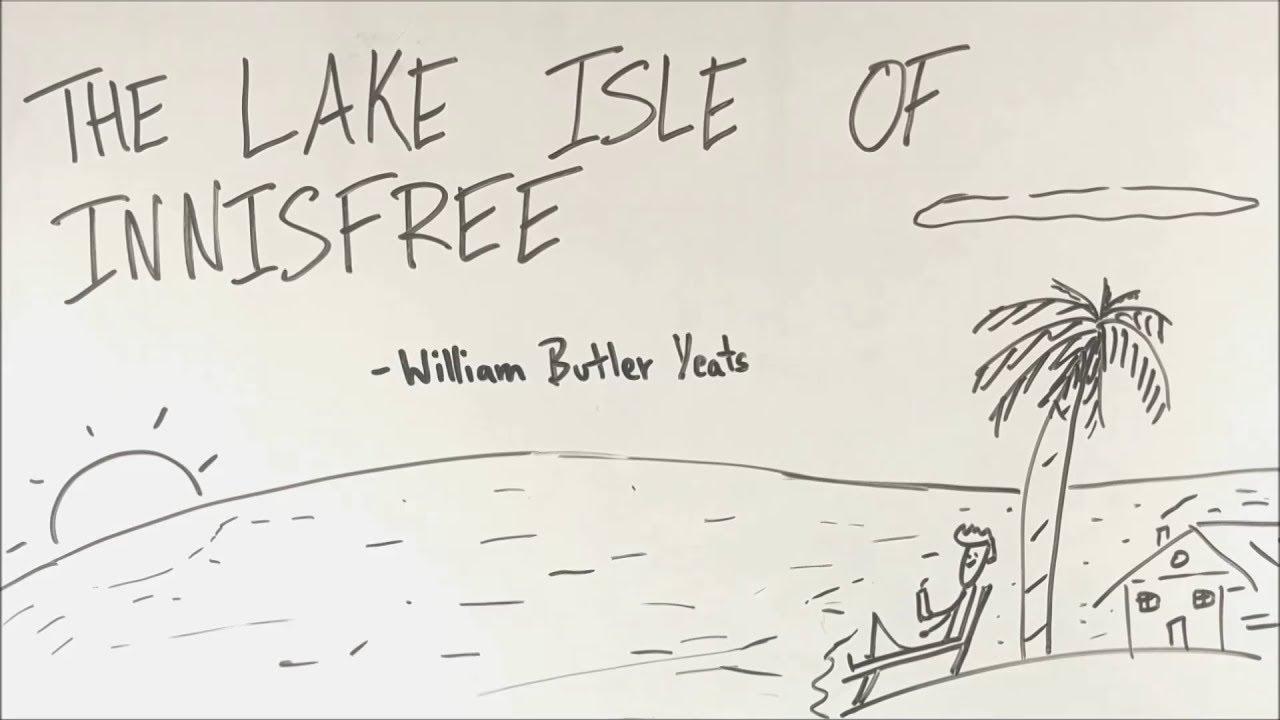 The Lake Isle Of Innisfree Bkp Clas 9 English Poem Full Explanation In Hindi Youtube Paraphrase