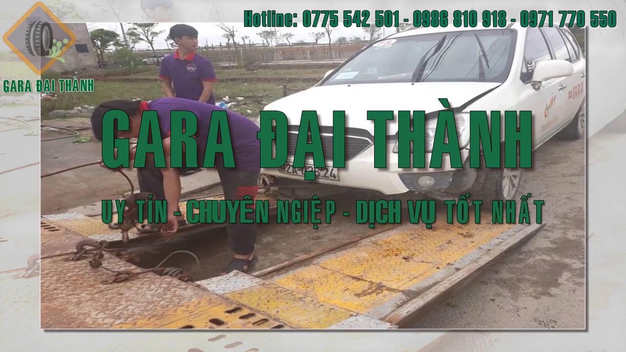 Gara Đại Thành – Sửa chữa,  bảo dưỡng cung cấp phụ tùng ô tô nhanh chóng hàng đầu tại Đà Nẵng