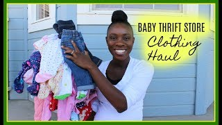 BABY GIRL ....THRIFT STORE CLOTHING HAUL
