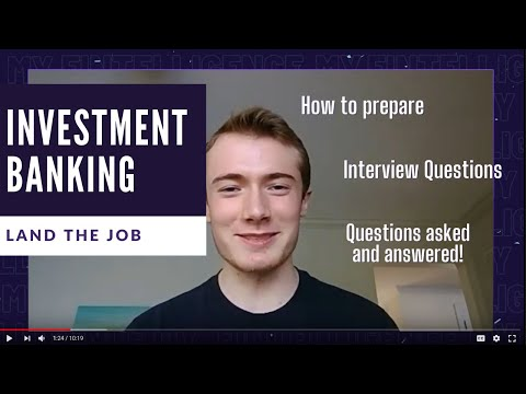 Land the Job with a Boutique Investment Banking Analyst