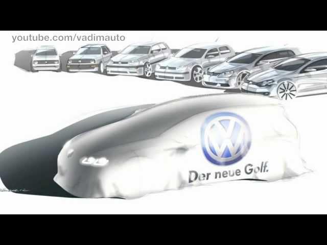 Volkswagen GOLF VII, very first presentation!