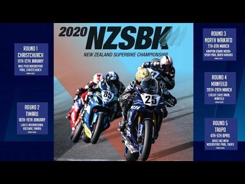 Round 1 Day 2 | 2020 New Zealand Superbike Championship | Motorsport | Sky Sport Next