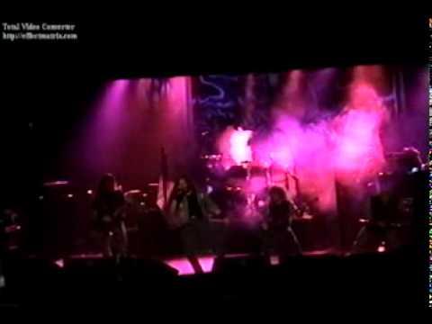 Iced Earth  Damien  Horror show tour 2002 Philadelphia