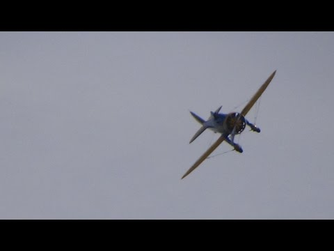 Boeing P-26 Peashooter at flying legends 2014