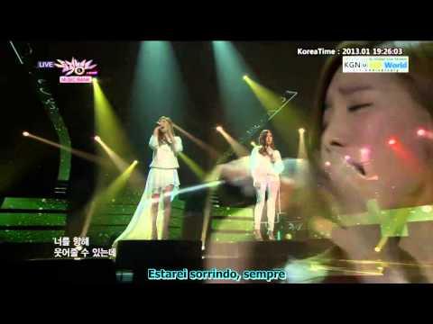 Lost in Love - SNSD (Tiffany e Taeyeon) Legendado PT-BR