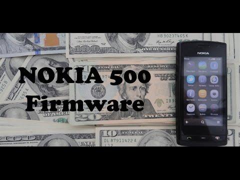 Nokia 500 Прошивка