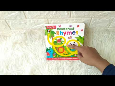 Fisher Price - Rainforest Rhymes Board Book