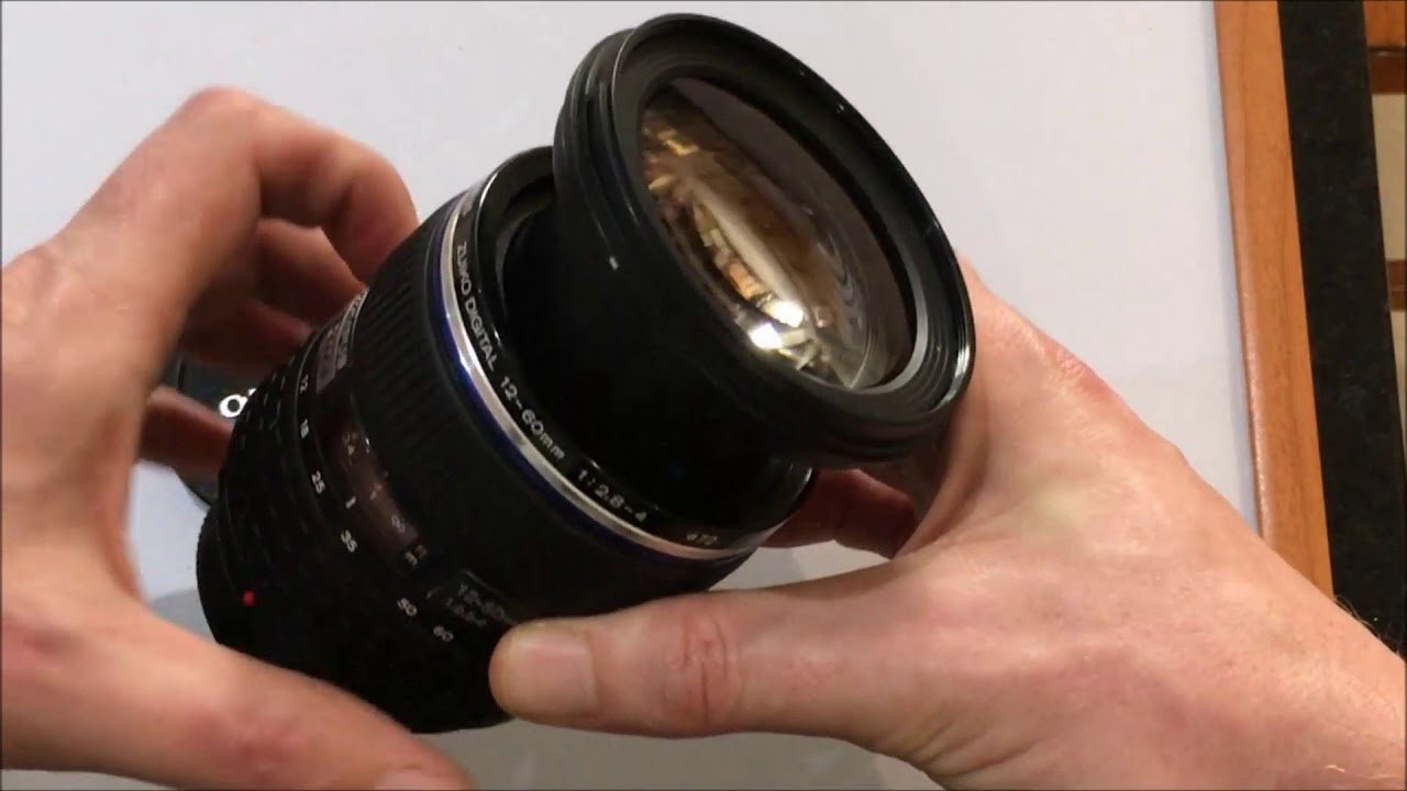 The parts of a camera lens - Anatomy of a DSLR Lens - YouTube