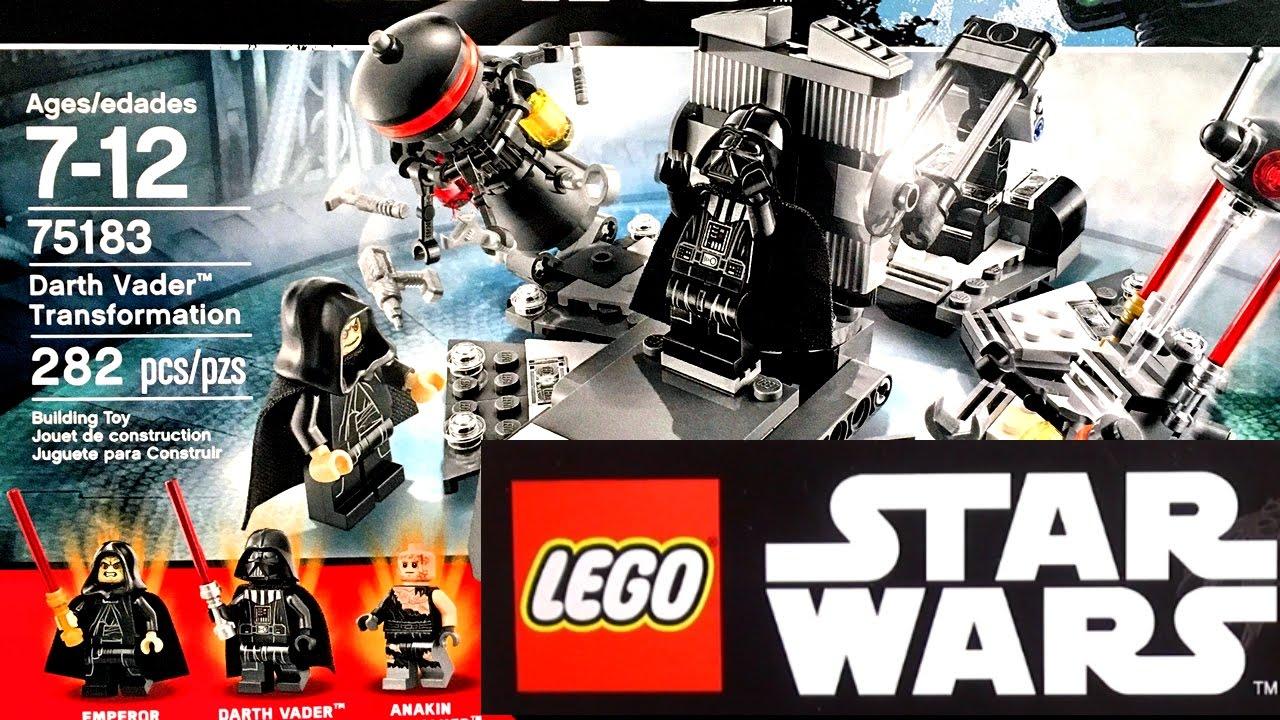 Lego Star Wars 2017 Трансформация Дарта Вейдера (75183) и наборы .