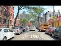 Driving Downtown 4K - Bronx Little Italy - New York City USA
