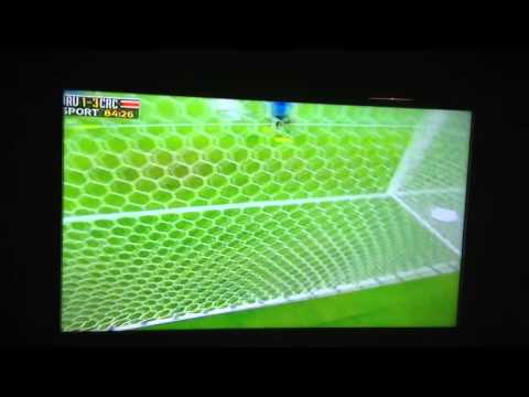 Urena's Great Goal vs Uruguay World Cup 2014 HD Must See