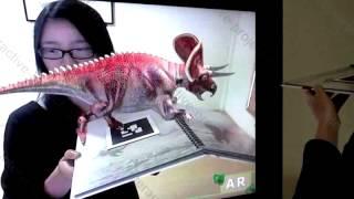 Дополненная реальность для детей 3D животные