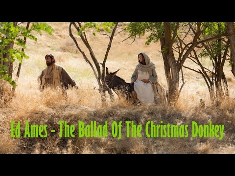 "Ed Ames  ""The Ballad Of The Christmas Donkey"""