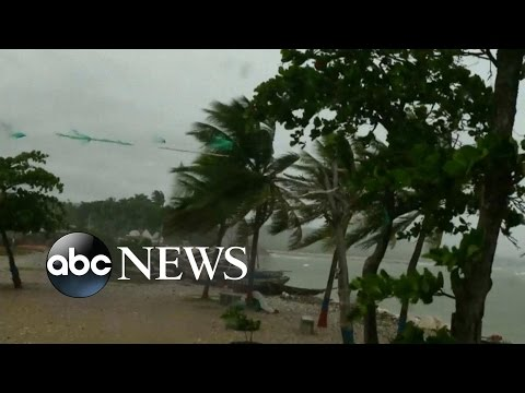 Hurricane Matthew Targets Haiti Before Moving North