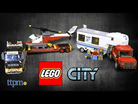 LEGO City Heavy Cargo Transport and Pickup & Caravan from LEGO