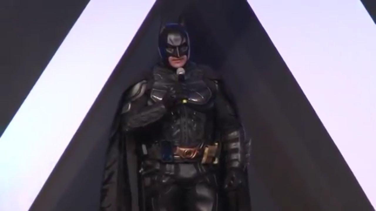 Batman Brasileiro Palestra Motivacional