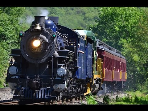 Reading & Northern 425: Steam on the Lehigh | July 23, 2016