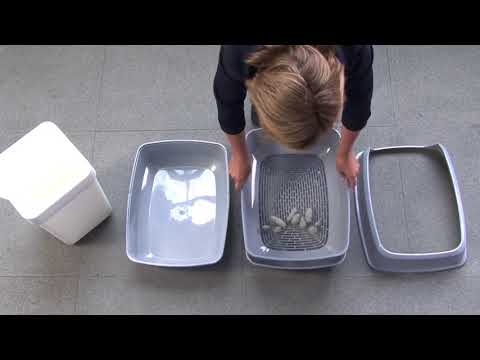 Как правильно собрать и использовать кошачий туалет ?