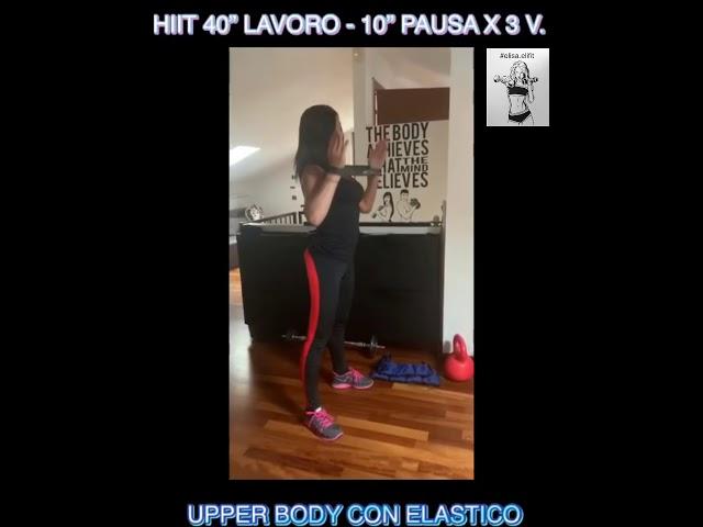 """CIRCUITO HIIT 40"""" LAVORO-10"""" PAUSA X 3 VOLTE #43"""