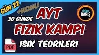 AYT FİZİK GENEL TEKRAR KAMPI-22 (IŞIK TEORİLERİ, YOUNG DENEYİ, IŞIĞIN TEK YARIKT