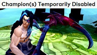 This is why Kayn got DISABLED!