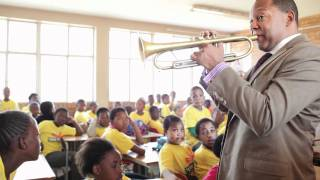 "Wynton Teaching improvisation on ""Shosholoza"", a Traditional South African Song"