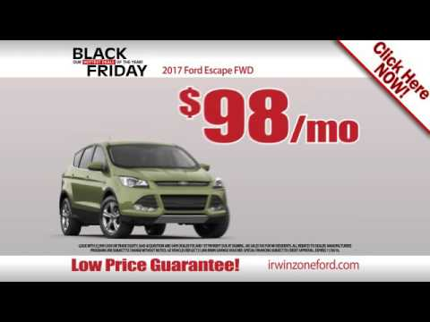 Irwin Ford Black Friday Sales Event November 2016
