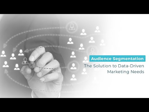 Audience Segmentation: The Solution to Data-Driven Marketing Needs