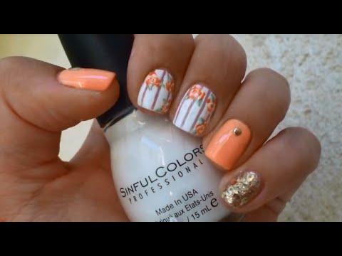 Дизайн ногтей несложный и красивый