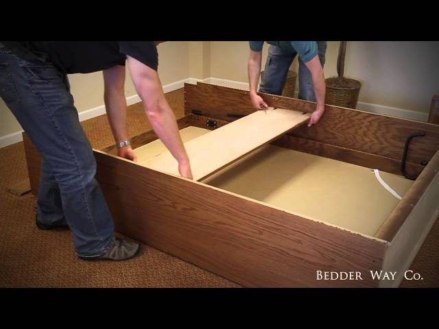 how to take apart a murphy bed 1