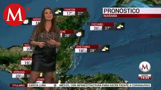 El clima para hoy 24 de enero, Arlett Fernández