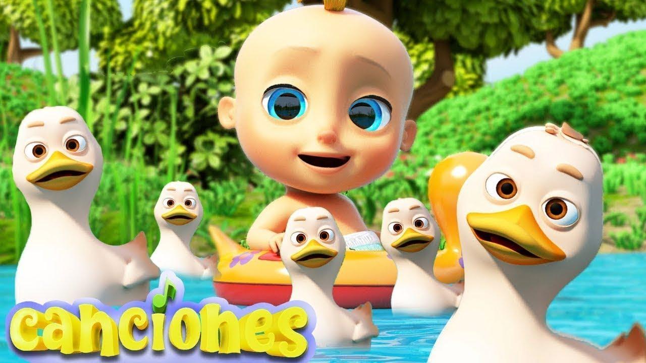 Cinco Patitos - Canciones Infantiles LooLoo | Videos para Bebés | Canciones divertida para niños