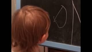 Ребёнок в 2.2 . Учимся писать цифры