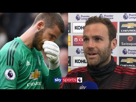 Juan Mata supportive of David De Gea after another mistake costs Man United victory