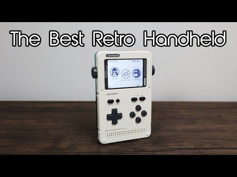 Retro handheld emulator consoles