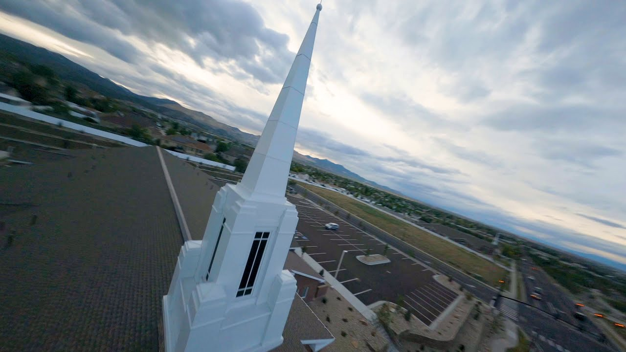 Church Racing Track with FPV Drones фото