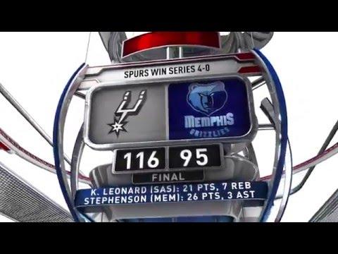 San Antonio Spurs vs Memphis Grizzlies - April 24, 2016