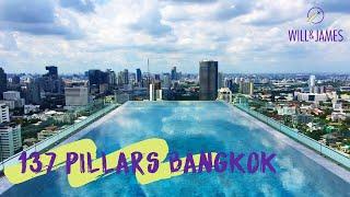 137 PILLARS BANGKOK HOTEL | Travel Vlog | Will and James