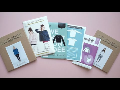 Laurens Top Tips - Choosing a jumper or sweater sewing pattern - YouTube