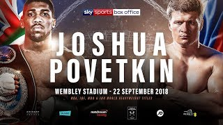 ANTHONY JOSHUA VS ALEXANDER POVETKIN - PRESS CONFERENCE TODAY!!!