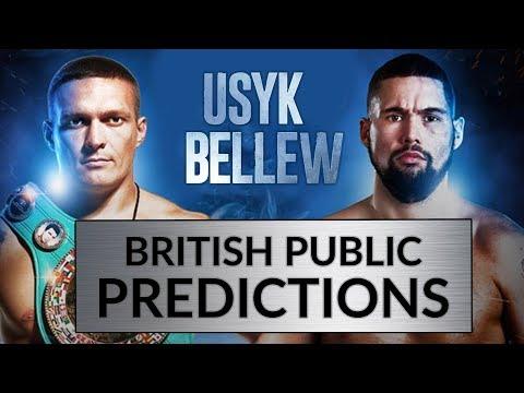 Oleksandr Usyk vs. Tony Bellew   FAN PREDICTIONS   Who Wins??   Cruiserweight Boxing