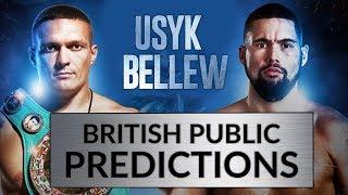 Oleksandr Usyk vs. Tony Bellew | FAN PREDICTIONS | Who Wins?? | Cruiserweight Boxing