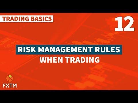 12 Risk Management Rules - FXTM Trading Basics