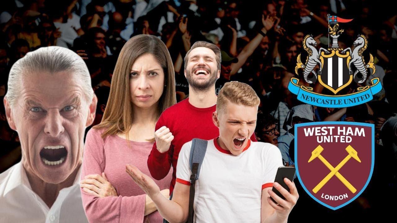 Live Fan Reaction Show   Newcastle United - West Ham