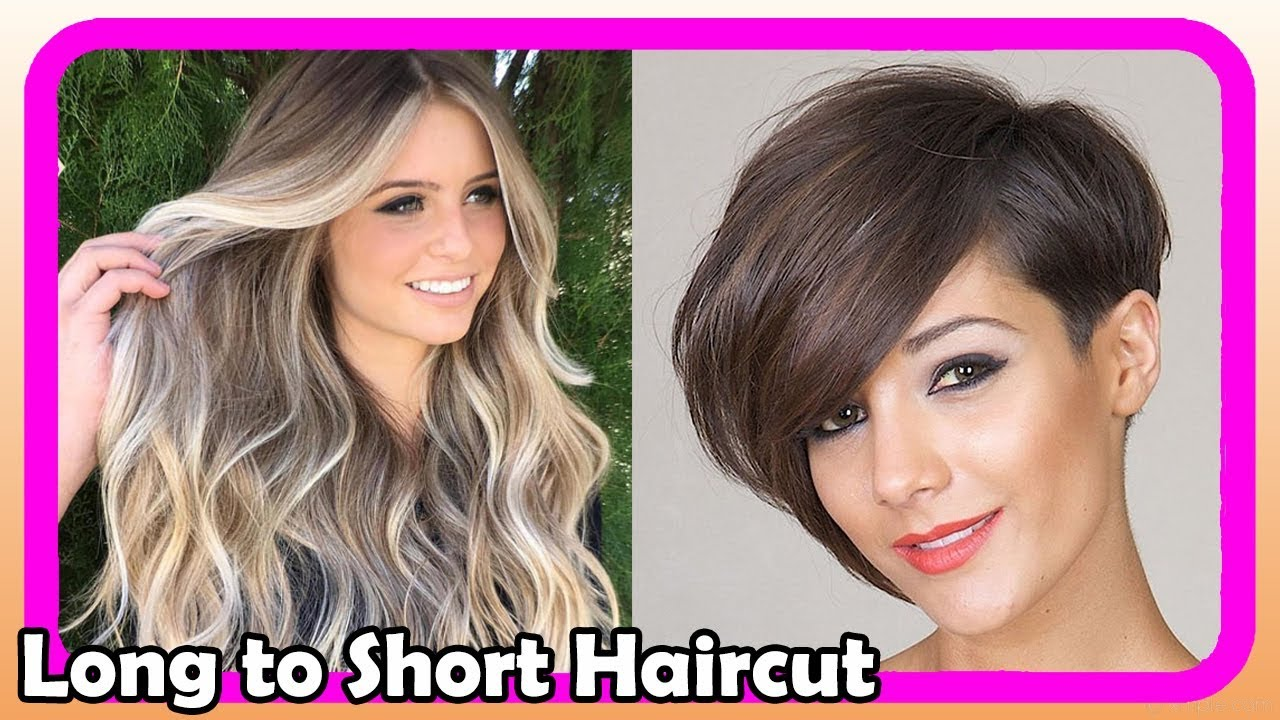 Beautiful Long To Short Pixie Haircut Women 5 Extreme Hair