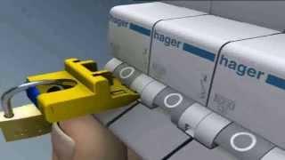 Автоматический выключатель :hager Quick Connect