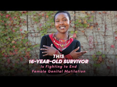 This 16-Year-Old Survivor Is Fighting to End Female Genital Mutilation