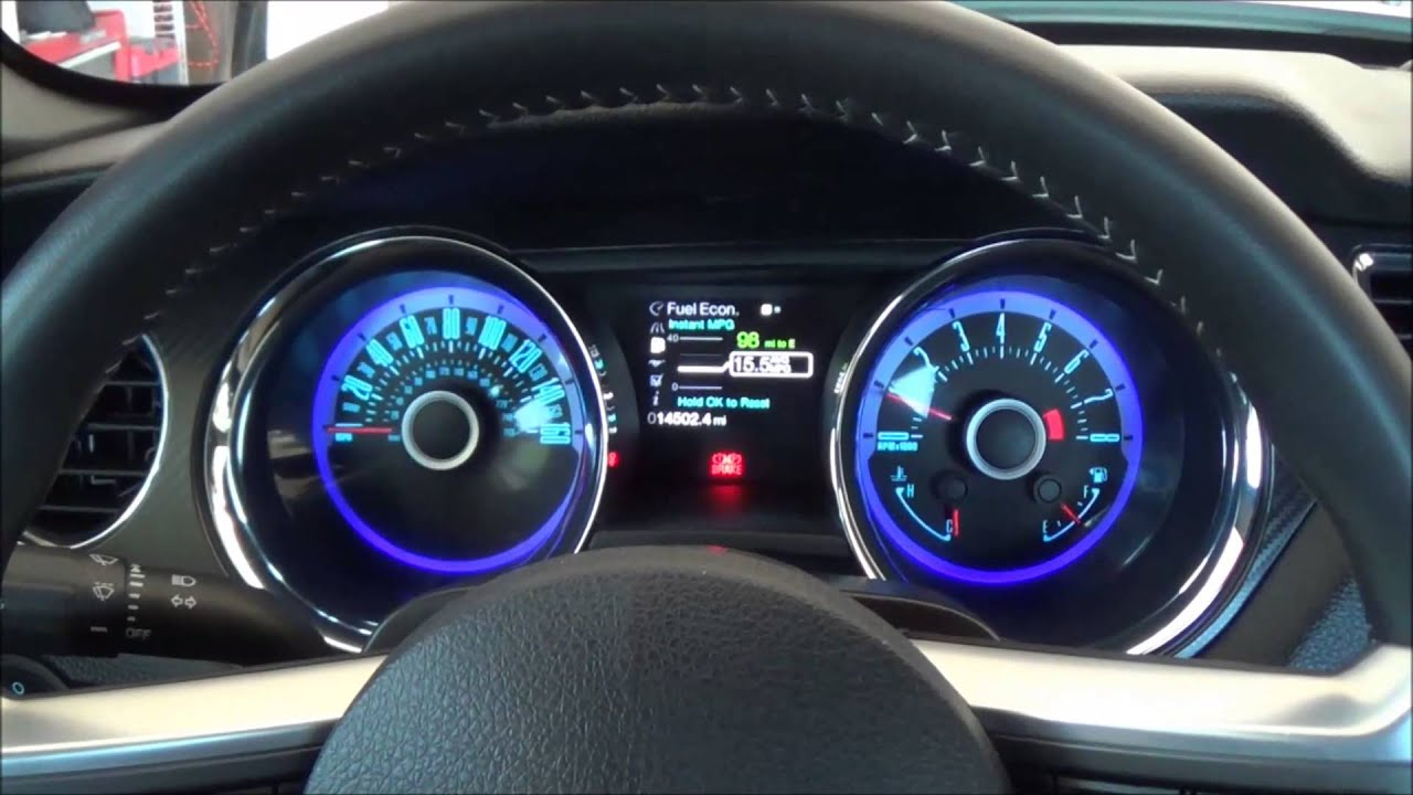 2013 Mustang Gt Cs Interior Quick Look Youtube