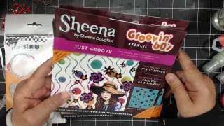 Sheena Stencils~IOD Prima Art Moulds